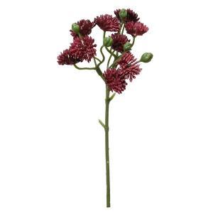 《 造花 グリーン 多肉植物 》Parer/パレ セダムピック バーガンディ|y-hanabishi