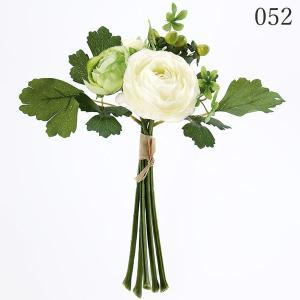 《 造花 》☆即日出荷☆アスカ/アスカ(ソクジツ) ミックスフラワーブーケ ホワイトグリーン|y-hanabishi