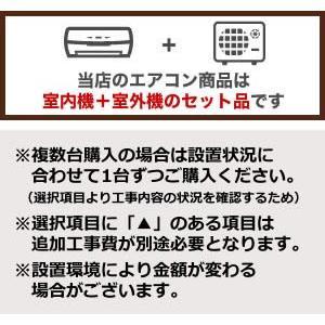 工事費込みセット ルームエアコン 冷房/暖房:6畳程度 三菱重工 SRK22RX-W ビーバーエアコン RXシリーズ 中級モデル 高機能モデル|y-jyupro|02