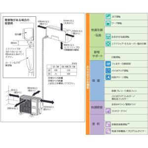 ルームエアコン 冷房/暖房:18畳程度 三菱重工 SRK56RX2-W ビーバーエアコン RXシリーズ 中級モデル 高機能モデル y-jyupro 06