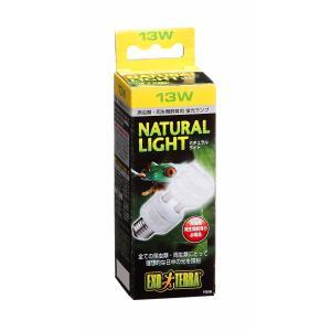 ジェックス エキゾテラ ナチュラルライト 13W 可視光線 UVA 爬虫類用ライト