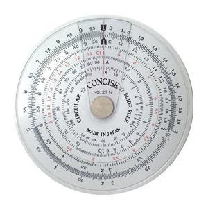 コンサイス 定規 円形計算尺 27N 100805
