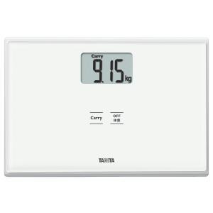 タニタ 体重計 ホワイト HD-665 WH 持ったモノの重さがはかれる