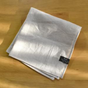 ハンカチ 麻のハンカチ(35cm×35cm) リネンとラミー[ゆうパケット送料160円]|y-kanehoshiya