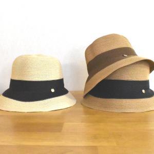 帽子 2TONEブレード小円ハット 紫外線対策、UVケア (宅配260円で発送)|y-kanehoshiya