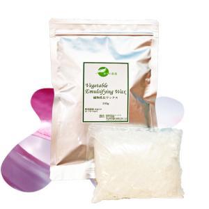 【手作り化粧品基材 ワックス 乳化剤】植物性乳化ワックス 100g