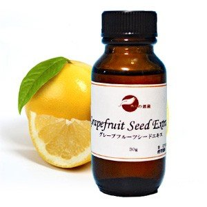【手作り化粧品基材 酸化防止剤】グレープフルーツシードエキス 30g