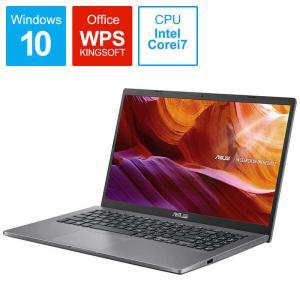 ノートパソコン[15.6型/intel Core i7/SSD:512GB/メモリ:8GB/2020年2月モデル] X545FA-BQ075T スレートグレーの画像
