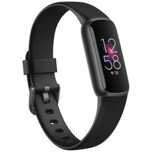 FITBIT Fitbit Luxe フィットネストラッカー ブラック/グラファイト L/Sサイズ FB422BKBK-FRCJK FB422BKBK-FRCJK|コジマPayPayモール店