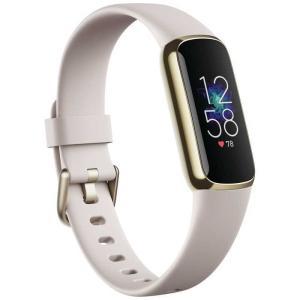 FITBIT Fitbit Luxe フィットネストラッカー ルナホワイト/ソフトゴールド L/Sサイズ FB422GLWT-FRCJK FB422GLWT-FRCJK|コジマPayPayモール店