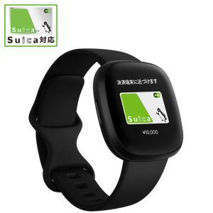 FITBIT Fitbit Versa3 GPS搭載 スマートウォッチ ブラック L/S サイズ F...