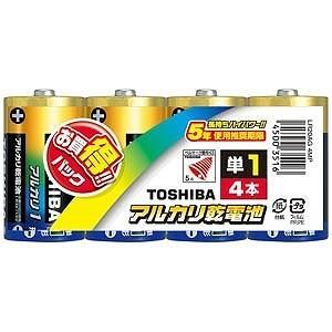 東芝 「単1形乾電池」アルカリ乾電池 LR20AG4MP|y-kojima