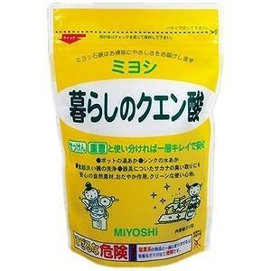 ミヨシ石鹸 暮らしのクエン酸 ミヨシクラシノクエンサンの商品画像