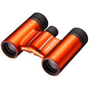 ニコン 8倍双眼鏡 「アキュロン T01(ACULON T01)」 8×21 AC T01 8X21O (オレンジ)|y-kojima