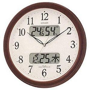 シチズン 電波掛け時計「ネムリーナカレンダー」 4FYA01...