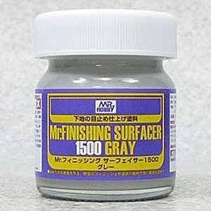 GSIクレオス Mr.フィニッシング・サーフェイサー1500(グレー/ビンタイプ) MRサーフェイサ...