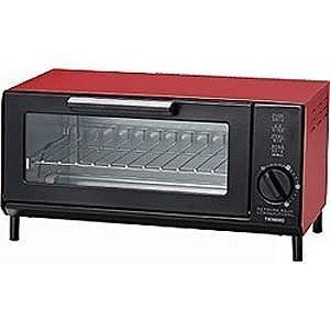 ツインバード オーブントースター 食パン2枚 TS‐4034R レッド の商品画像