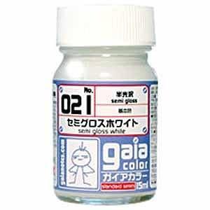 ガイアノーツ 基本カラー 021 セミグロスホワイト ガイア021セミグロスホワイト(ガ