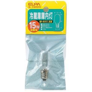 エルパ 冷蔵庫庫内灯(口金E12) G‐15H(C)