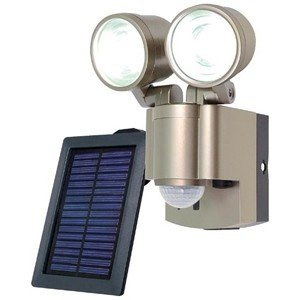 エルパ 「屋外用」ソーラー式LEDセンサーライト ESL‐302SL|y-kojima