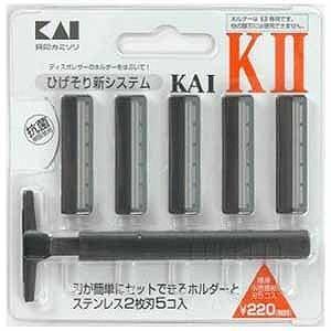 貝印 K-2 ひげそり用カミソリ ホルダー 替...の関連商品1