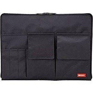 リヒトラブ バッグインバッグ A4 A‐7554‐24 (黒)