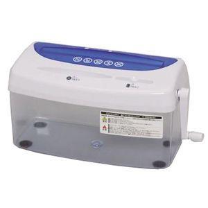 アイリスオーヤマ クロスカットハンドシュレッダー(A4サイズ) H1ME