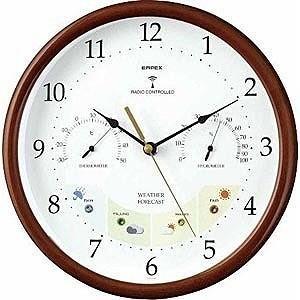 エンペックス 晴天望機「ウェザーパル電波時計」 BW‐873