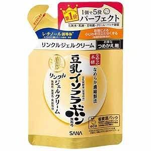 常磐 「サナなめらか本舗」豆乳イソフラボン含有のリンクルジェルクリーム(80g) NHリンクルCカエ(80g