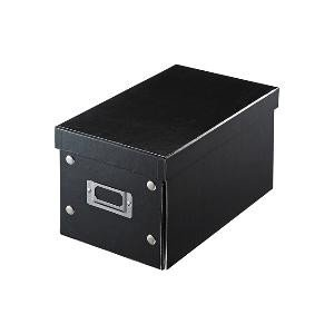 サンワサプライ 組み立て式CD BOX(CD:25枚/DVD:10枚/Blu−ray:10枚収納) FCD‐MT3BK