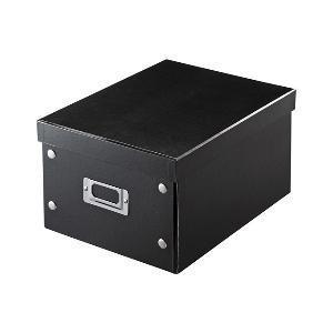 サンワサプライ 組み立て式DVD BOX(CD:37枚/DVD:17枚/Blu−ray:19枚収納) FCD‐MT4BK (ブラック)