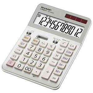 シャープ 実務電卓(セミデスクトップタイプ・12桁) CS‐S952C‐X|y-kojima