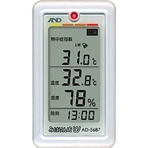 エー・アンド・デイ くらし環境温湿度計「みはりん坊W」 AD‐5687|y-kojima