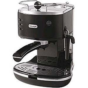 デロンギ 「エスプレッソマシン兼用」コーヒーメーカー(1.4L) ECO310BK (ブラック)