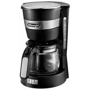 デロンギ ドリップコーヒーメーカー (5杯分) ICM14011J/ブラック