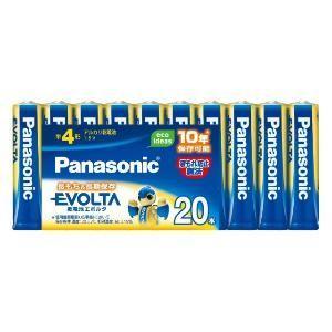 パナソニック 「単4形乾電池」アルカリ乾電池×20本 「エボルタ」 LR03EJ/20SW|y-kojima
