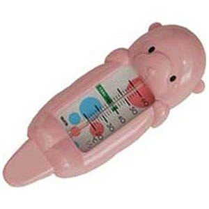 タニタ 浮型湯温計「ラッコちゃん」 5417PK (ピンク)