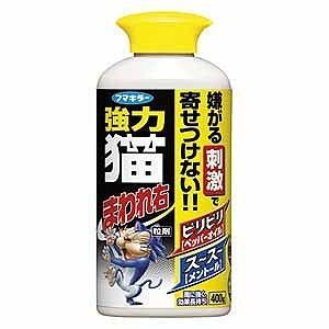 フマキラー 強力 猫まわれ右 粒剤 400g〔忌避剤・殺虫剤〕 ネコマワレミギR400