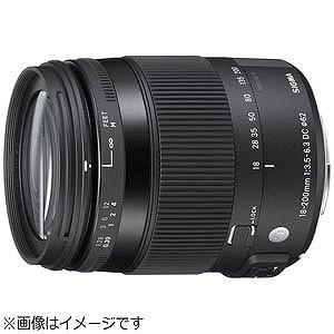 シグマ 標準ズームレンズ ニコン用 18‐200mm F3.5‐6.3 DC MACRO OS HS...