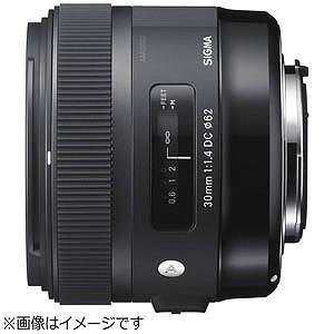 シグマ 30mm F1.4 DC HSM「ソニーA(α)マウント」 301.4DCHSMSO