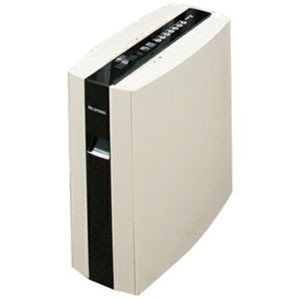 アイリスオーヤマ IRIS 電動シュレッダー ホワイト/ブラック [マイクロカット/A4サイズ/CD...