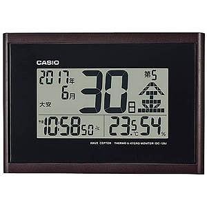 CASIO 電波掛け時計 IDC‐120J‐5JFの関連商品1