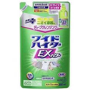 花王 ワイドハイターEXパワー 大 つめかえ用 880ml 〔漂白剤〕