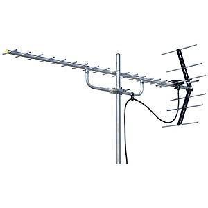 マスプロ 家庭用UHFアンテナ 20素子 U206|y-kojima