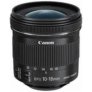 Canon EF−S10−18mm F4.5−5.6 IS STM EF‐S10‐18ISSTM