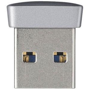 バッファロー USB3.0メモリ 小型・軽量タイプ RUF3−PSシリーズ(8GB・シルバー) RUF3‐PS8G‐SV