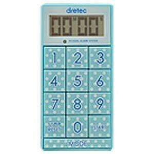 ドリテック デジタルタイマー「スリムキューブ」 T−520BL ブルー