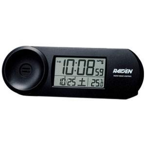 セイコー 電波目覚まし時計 NR532K (黒)