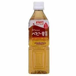 ピジョン ベビー麦茶 500ml ベビームギチャ(500...
