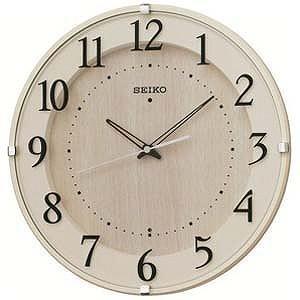 セイコー 電波掛け時計「ナチュラルスタイル」 KX397A...